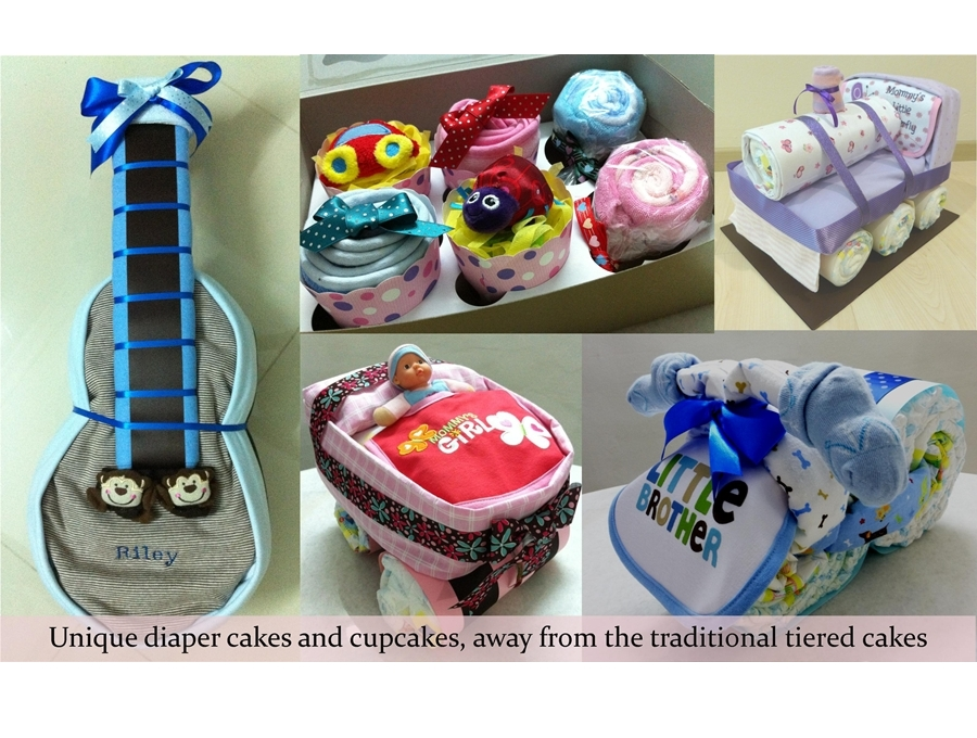 Babypoppits baby diaper cakes towel cakes and personalized prevnext negle Gallery